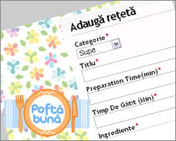 Cum să adaugi o rețetă nouă pe PoftaBuna.md