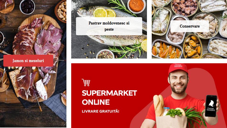Unde poți comanda produse alimentare cu livrare în Chișinău