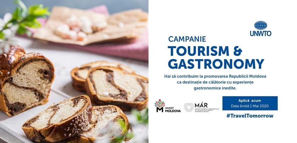 Campanie Tourism & Gastronomy în Moldova